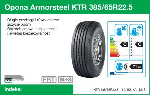 Opona Armorsteel KTR 385/65R22.5