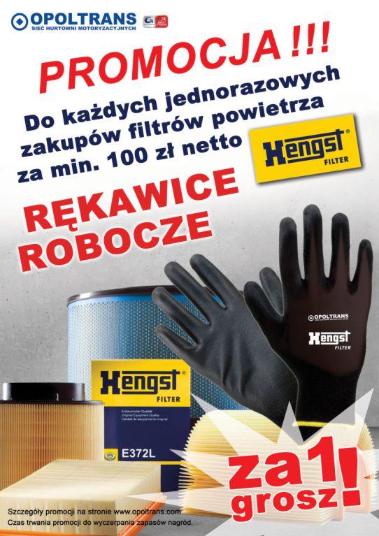 Promocja na filtry powietrza Hengst