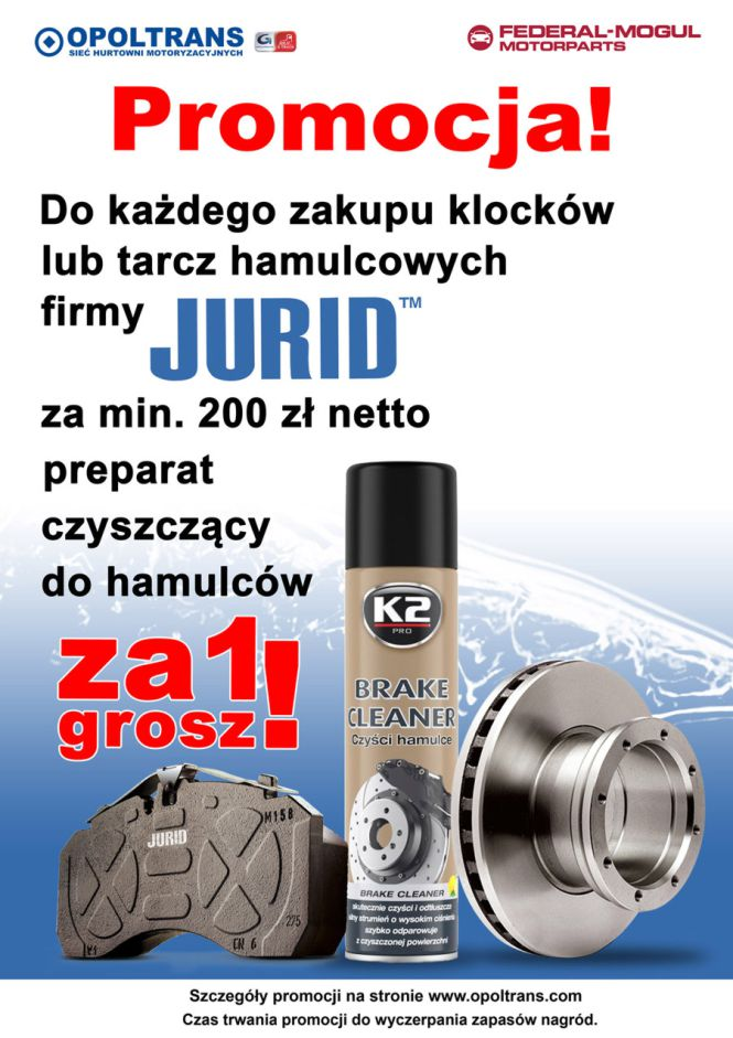 Promocja produktów firmy Jurid