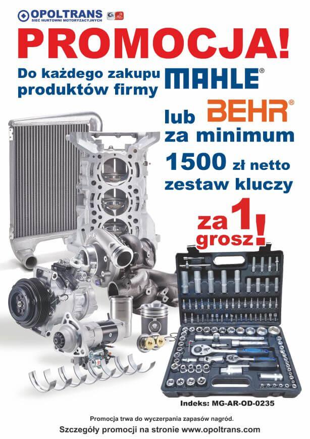 Plakat promocja produktów MAHLE