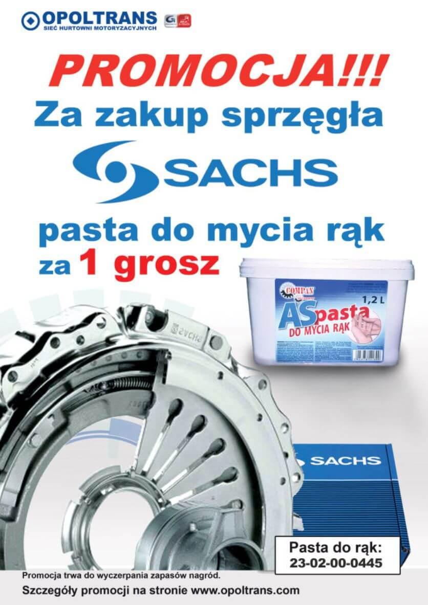 Promocja na sprzęgła Sachs