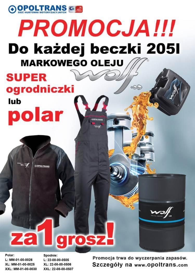 Promocja olejów WOLF
