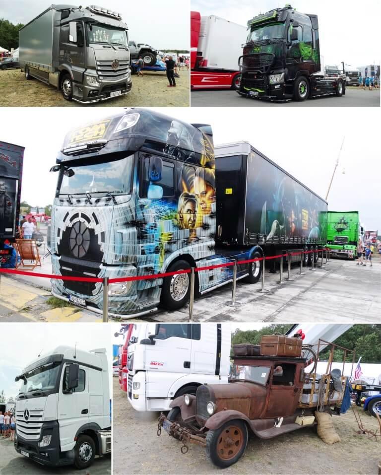 Tuningowane ciężarówki podczas Master Truck 2019