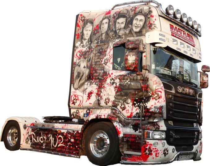 """Ciężarówka """"Czterej Pancerni"""""""