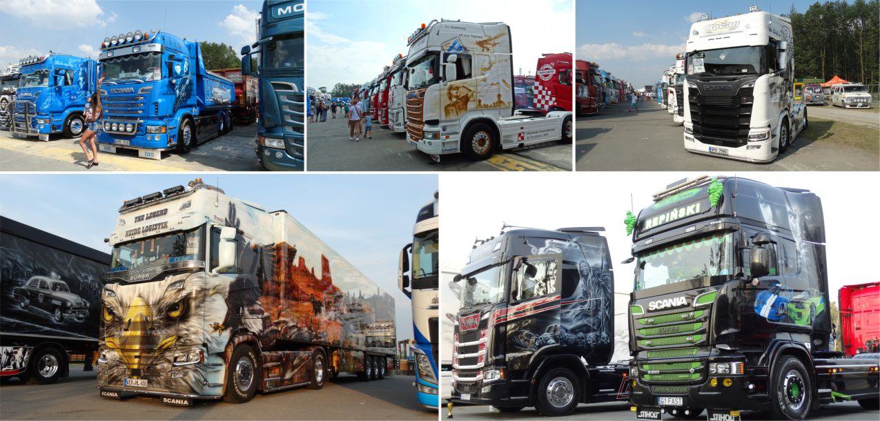 Ciężarówki na Master Truck 2018
