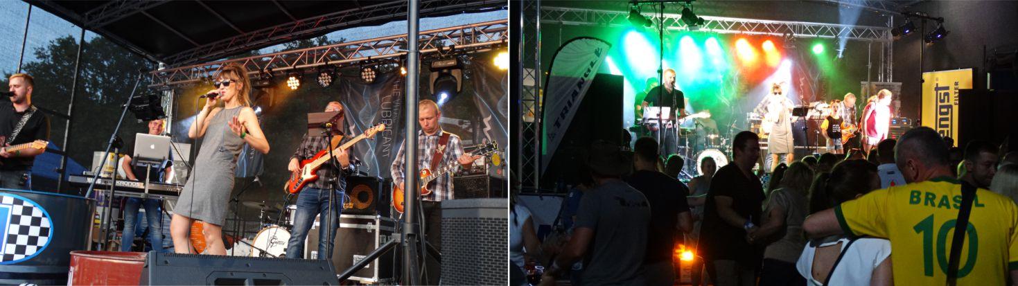 Koncert zespoło Szelky w Strefie OPOLTRANS
